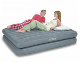 Надувная кровать intex - 67744, два в одном