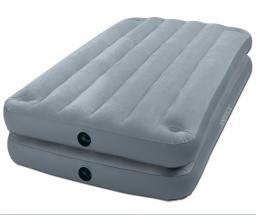 Надувная кровать intex - 67743, два в одном