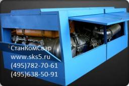 Компрессор винотвой НВ-10/8М2 стационарный дизельный