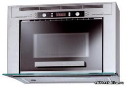 Комбинация микроволновой печи и вытяжки Kuppersbusch MWGD 750.0