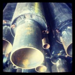 Трубы в изоляции ППУ-П с ОДК