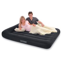 Надувная кровать intex - 66770 с подголовником