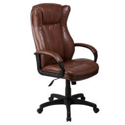 Кресло руководителя СН-879AXSN Brown