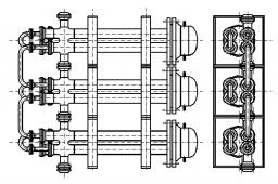 Теплообменник ттор 133/219-4.0/1.6