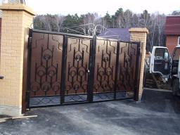 Ворота из металла от производителя