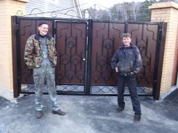 Ворота гаражные из металла купить
