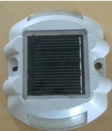 Маячок алюминиевый светодиодный на солнечной батарее
