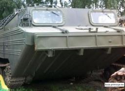 Плавающий транспортер самоходный ПТС-М с хранения