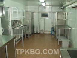 Вагон дом кухня-столовая на 8 человек