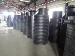 Колодцы канализационные пластиковые
