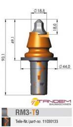 Резец дорожный Barat Carbide RM3-T9