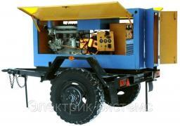 Двухпостовой сварочный агрегат АДД-2Х2501 -Д-242, 2х250 А/400 А, 1260 кг,