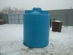 Емкость (бак) для воды вертикальная 3 куб.м. 1463х1856 мм с крышкой