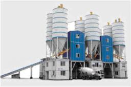 Китайский бетонный и асфальтовый завод