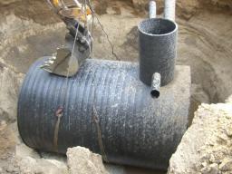 Емкость (бак) для хранения дизельного топлива, ГСМ, масла 5 куб.м. 1500х80х3000 мм