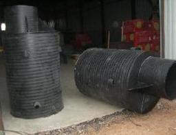 Колодец пластиковый (полиэтиленовый) 1200х25х2600 мм
