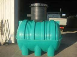 Септик накопительный (ёмкость для канализации) 2 куб.м. 1379х8х1938 мм