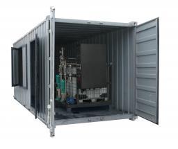 Битумно-эмульсионная установка контейнерного исполнения