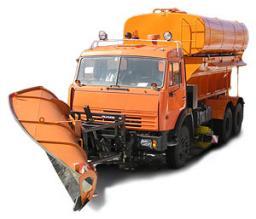 Комбинированная дорожная машина на базе КамАЗ-53215