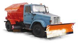 Комбинированная дорожная машина КДМ-130 на базе ЗиЛ