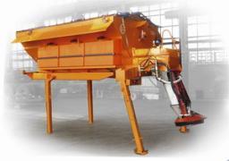 Пескоразбрасывающее оборудование быстросъемное на лапах