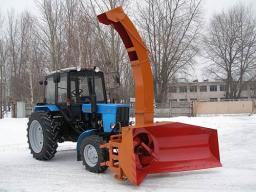 Снегоочиститель роторный ЕМ-800 на МТЗ