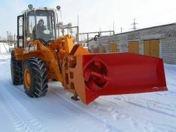 Снегоочиститель роторный ЕМ-800 на погрузчик АМКОДОР