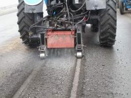 Фреза дорожная с шириной резания 600 мм ЕМ-600 на МТЗ