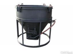 Бункер для бетона