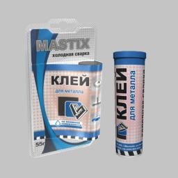 Клей MASTIX для металла холодная сварка (туба 55гр)