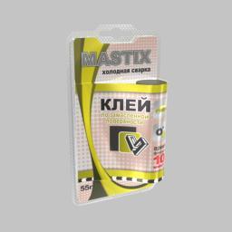 Клей MASTIX по замасленной поверхности холодная сварка (туба 55гр