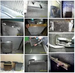 Ремонт масляного радиатора в Новосибирске