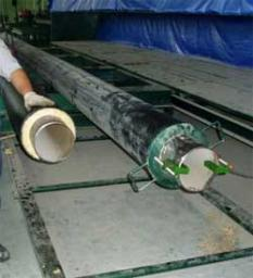 Трубы для подземной прокладки в полиэтиленовой оболочке