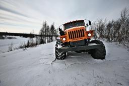Снегоболотоход Урал-Полярник шасси