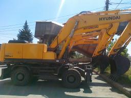 Экскаватор HYUNDAI R200W-7