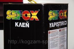 КЛЕЙ мебельный SEFOX 1212 (янтарный)