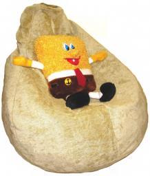 Кресло мешок из шенила