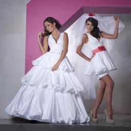 выкройка платья с качелей на спине