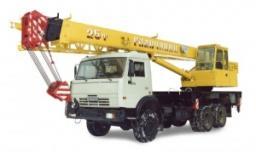 Автокраны КС-55713-4 «Галичанин» шасси Камаз-53228 (6х6)