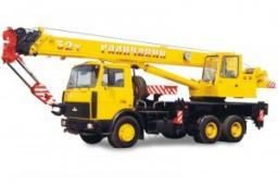 Автокраны КС-55729- B «Галичанин» шасси МАЗ-6303А3 6х4