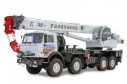 Автокраны КС-55729-5B «Галичанин» шасси КамАЗ-63501 8х8