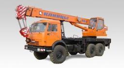 Автокраны КС-35719-7-02 «Клинцы» шасси КамАЗ-43118 6х6