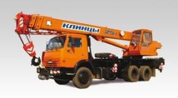 Автокраны КС-55713-1К «Клинцы» шасси КамАЗ-65115 6х4