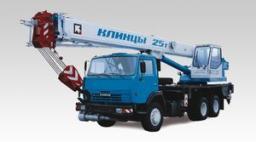 Автокраны КС-55713-1К-2 «Клинцы» шасси КамАЗ-65115 6х4