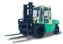 Вилочные погрузчики Dalian серия CPCD до 6 т 4,5-6,0 т Dalian Forklift Co., Ltd.