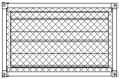 Фильтры для прямоугольных вентиляторов ФКПт