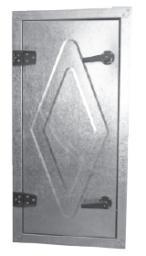 Гермодвери для вентиляционных камер