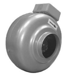 Вентиляторы канальные круглого сечения ВК100/125/160