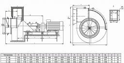 Эксгаустеры типов Э – 4Б; Э – 5Б и Э – 6Б