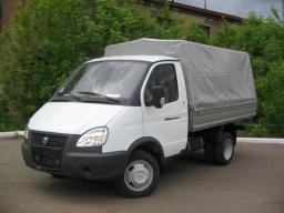 ГАЗ-3302 ГАЗель бортовая с тентом